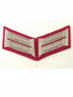 Heer Officer General Staff Waffenrock Collar Tabs