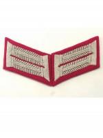 Heer Officer General Staff Waffenrock Collar Tabs