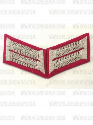 Replica of Heer Officer General Staff Waffenrock Collar Tabs (German Collar Tabs) for Sale (by ww2onlineshop.com)