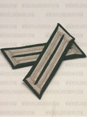 Replica of Infantry Regiment Grossdeutschland Collar Tabs (German Collar Tabs) for Sale (by ww2onlineshop.com)