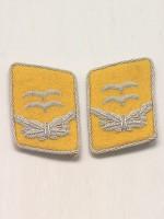 Luftwaffe 1st Lt Collar Tabs