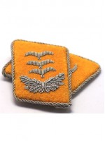 Luftwaffe Captain Collar Tabs