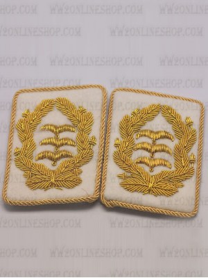 Replica of Luftwaffe General Collar Tabs (German Collar Tabs) for Sale (by ww2onlineshop.com)