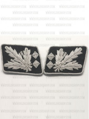 Replica of SS General.(SS Obergruppenfuhrer) Collar Tabs (German Collar Tabs) for Sale (by ww2onlineshop.com)