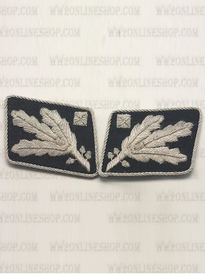 Replica of SS General.(SS Obergruppenfuhrer) Collar Tabs prior to 1942 (German Collar Tabs) for Sale (by ww2onlineshop.com)