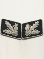 SS Major General.(SS Brigadefuhrer) Collar Tabs