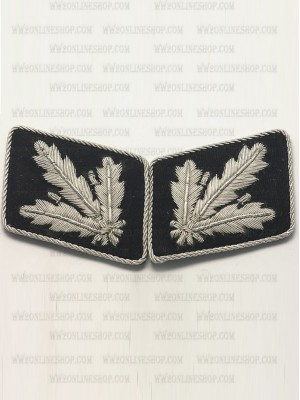 Replica of SS Major General.(SS Brigadefuhrer) Collar Tabs (German Collar Tabs) for Sale (by ww2onlineshop.com)