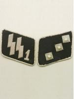 SSVT 2nd Lieutenant (SS-Unterstrumfuhrer) Collar Tabs
