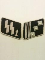 SSVT Captain(SS-Hauptstrumfuhrer) Collar Tabs