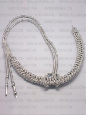 Replica of German Adjutant Aiguillette (Silver) (German Aiguillettes) for Sale (by ww2onlineshop.com)