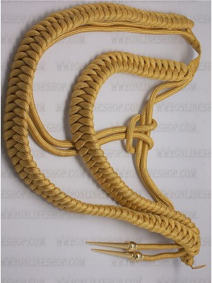 Replica of German General Aiguillette (German Aiguillettes) for Sale (by ww2onlineshop.com)