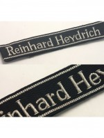 11th Reinhard Heydrich Gebirgsjäger Regiment Officer Cuff Title