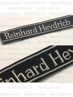 Replica of 11th Reinhard Heydrich Gebirgsjäger Regiment Officer Cuff Title (Other Insignia) for Sale (by ww2onlineshop.com)