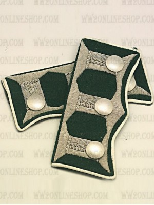 Replica of Infantry Regiment Grossdeutschland WaffenRock Cuff Tabs(2 Pairs) (Other Insignia) for Sale (by ww2onlineshop.com)