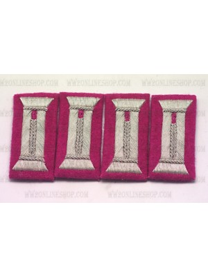 Replica of Panzer Officer Waffenrock Cuff Tabs(2 Pairs) (Other Insignia) for Sale (by ww2onlineshop.com)