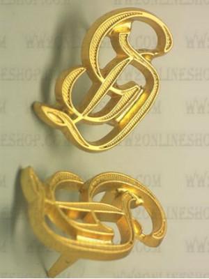 Replica of GD Grossdeutschland Shoulder Board Cyphers in Gold (Shoulder Board Cyphers) for Sale (by ww2onlineshop.com)