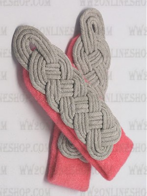 Replica of Field Grade Officer Shoulder Boards(Panzer) (German Shoulder Boards) for Sale (by ww2onlineshop.com)
