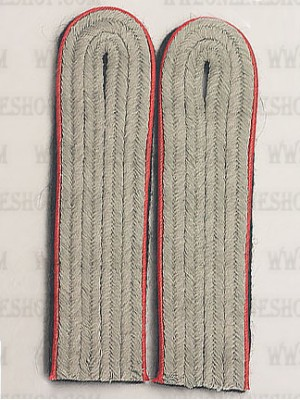 Replica of SS Company Grade Officer Shoulder Boards(Artillery) (German Shoulder Boards) for Sale (by ww2onlineshop.com)