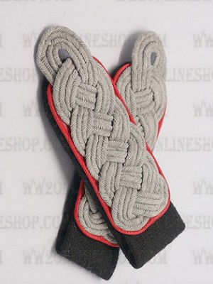 Replica of SS Field Grade Officer Shoulder Boards(Artillery) (German Shoulder Boards) for Sale (by ww2onlineshop.com)