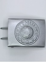 German Heer EM Buckle in Silver