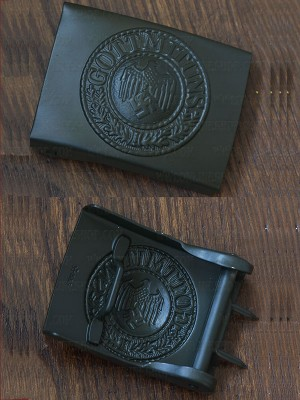 Replica of Heer EM Buckle in Green (German Belt&Buckles) for Sale (by ww2onlineshop.com)