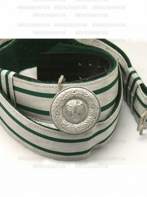 Replica of Heer Officer s Brocade Belt & Buckle (German Belt&Buckles) for Sale (by ww2onlineshop.com)
