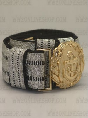 Replica of Kriegsmarine Officer Belt&Buckle (German Belt&Buckles) for Sale (by ww2onlineshop.com)