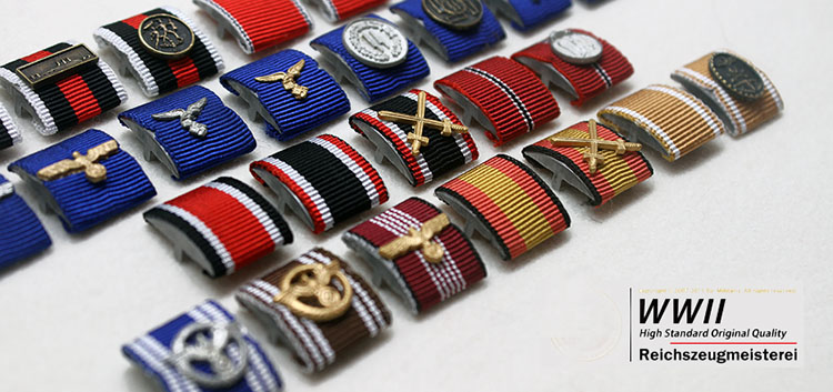 German Ribbon Bars
