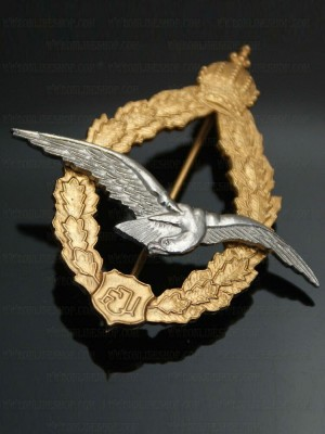 Replica of Austrian Pilots Badge (WWI Medals & Awards) for Sale (by ww2onlineshop.com)