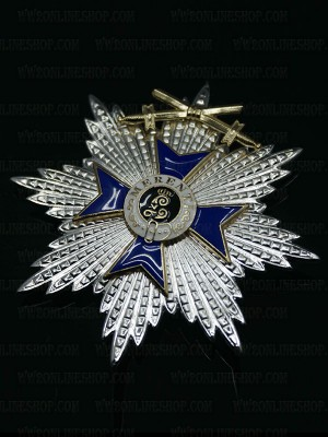 Replica of Bavarian Military Merit Order (Militär-Verdienstorden) Grand Cross with Swords (WWI Medals & Awards) for Sale (by ww2onlineshop.com)