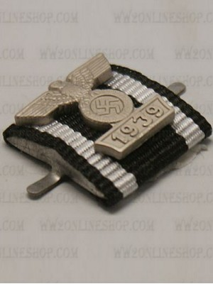 Replica of 1914 Iron Cross 2nd Class with 1939 Spange (Ribbon Bars Devices) for Sale (by ww2onlineshop.com)
