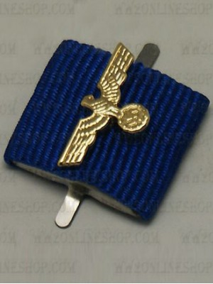 Replica of Heer Long Service Medal (12 year / 25 year) (Ribbon Bars Devices) for Sale (by ww2onlineshop.com)