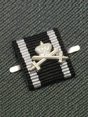 Replica of Prussian House Order of Hohenzollern with Silver Swords and Crown (Ribbon Bars Devices) for Sale (by ww2onlineshop.com)