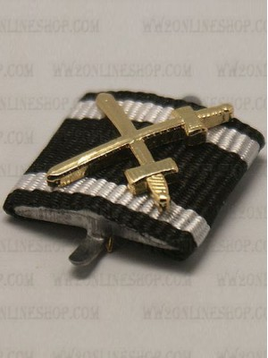 Replica of The Prussian Red Eagle Order 3rd Class(WW1) (Ribbon Bars Devices) for Sale (by ww2onlineshop.com)