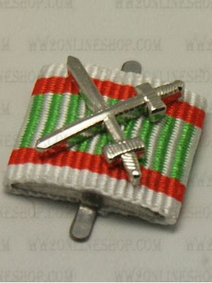 Replica of War Medal 1914/1918 for Combatant (Hungary) (Ribbon Bars Devices) for Sale (by ww2onlineshop.com)