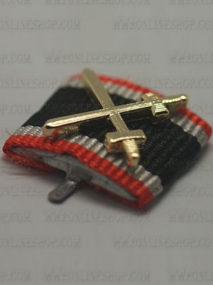 Replica of War Merit Cross 2nd Class with Swords (Ribbon Bars Devices) for Sale (by ww2onlineshop.com)