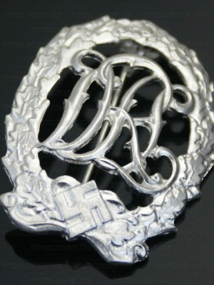 Replica of DRL Sport Badge in Silver (Party & Sport Badges) for Sale (by ww2onlineshop.com)