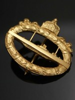 First War German Imperial Submarine Badge(U-Boat Badge)