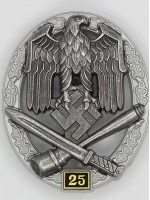 General Assault Badge 25 Engagements