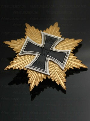 Replica of German 1914 Star of the Grand Cross of the Iron Cross (WWI Medals & Awards) for Sale (by ww2onlineshop.com)