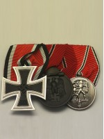 WW2 German 3R Medal Bar(#1)