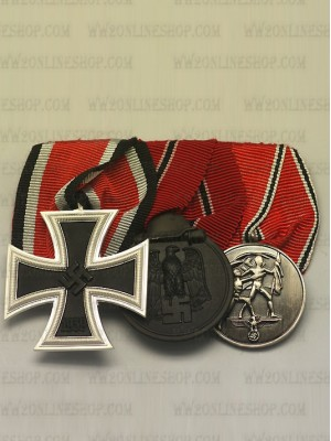Replica of WW2 German 3R Medal Bar(#1) (German Medal Bars) for Sale (by ww2onlineshop.com)