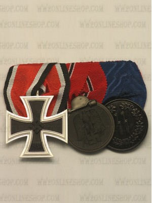 Replica of WW2 German 3R Medal Bar(#2) (German Medal Bars) for Sale (by ww2onlineshop.com)