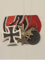 WW2 German 3R Medal Bar(#3)