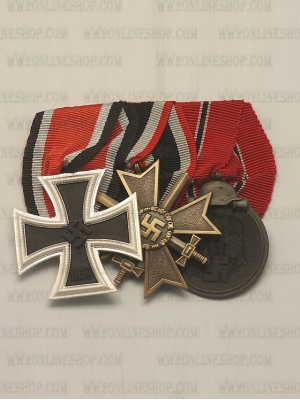 Replica of WW2 German 3R Medal Bar(#3) (German Medal Bars) for Sale (by ww2onlineshop.com)