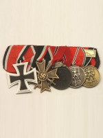 WW2 German 5R Medal Bar(#1)
