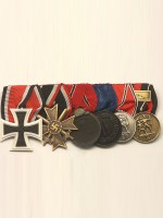 WW2 German 6R Medal Bar(#1)