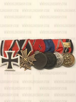 Replica of WW2 German 6R Medal Bar(#1) (German Medal Bars) for Sale (by ww2onlineshop.com)