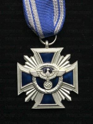 Replica of German NSDAP Long Service Award (Fifteen Year Award) (WWII German Medals) for Sale (by ww2onlineshop.com)