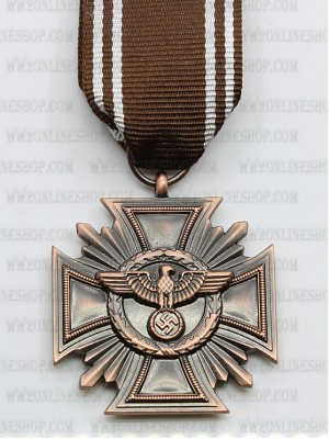 Replica of German NSDAP Long Service Award (Ten year Award) (WWII German Medals) for Sale (by ww2onlineshop.com)